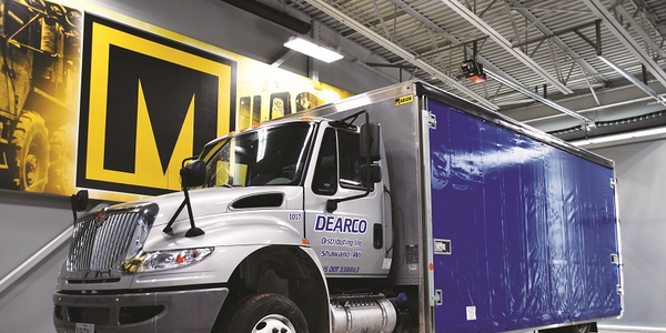 With the Kin-Slider system, Dearco's drivers are more efficient with their deliveries, no longer...