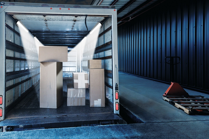 Well-lit trailer and body interiors not only enhance safety, but also allow workers to access and move cargo and goods easier and faster. 