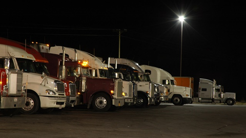 It's not like we didn't know that truck parking was going to be a problem with mandatory...