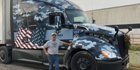 USA Truck Attracts Veterans with Training, Equipment