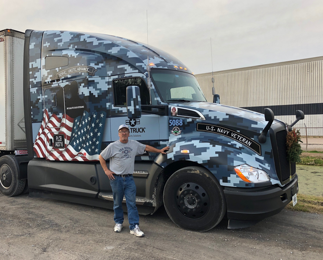 USA Truck Attracts Veterans with Training, Equipment - Fleet
