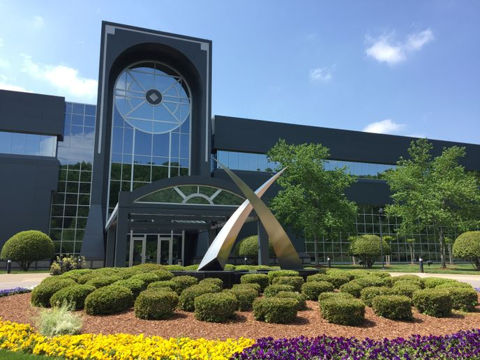 U.S. Xpress headquarters in Chattanooga, Tennessee  - Photo by Deborah Lockridge