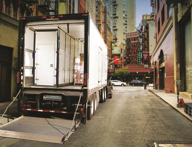Multi-temp trailers like this Utility 3000R are especially affected by trends such as more fresh delivery and food safety regs.Photo: Utility