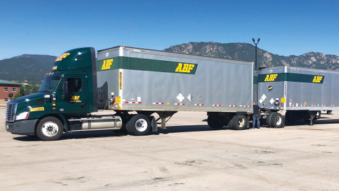 In an effort to help veterans, ABF Freight's driver training program eases the transition into...