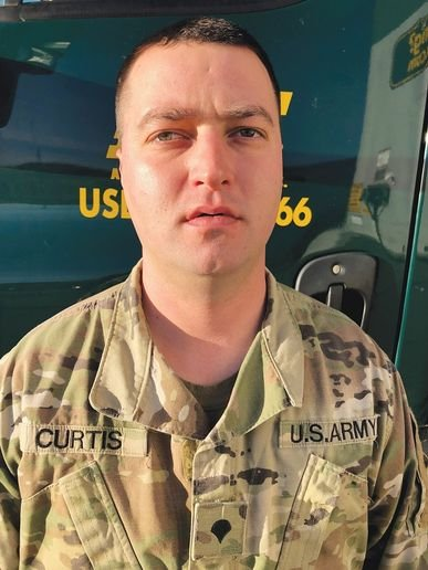 Former U.S. Army Specialist and current ABF employee Frederick Curtis' first day of training with ABF began while he was still on active duty. -