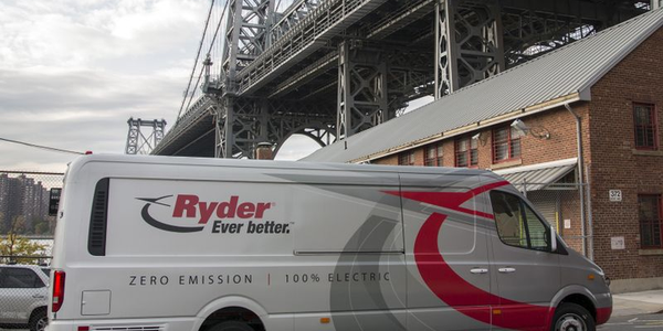In 2018, Ryder System ordered 500 Chanje Energy battery-electric panel vans for its ChoiceLease...