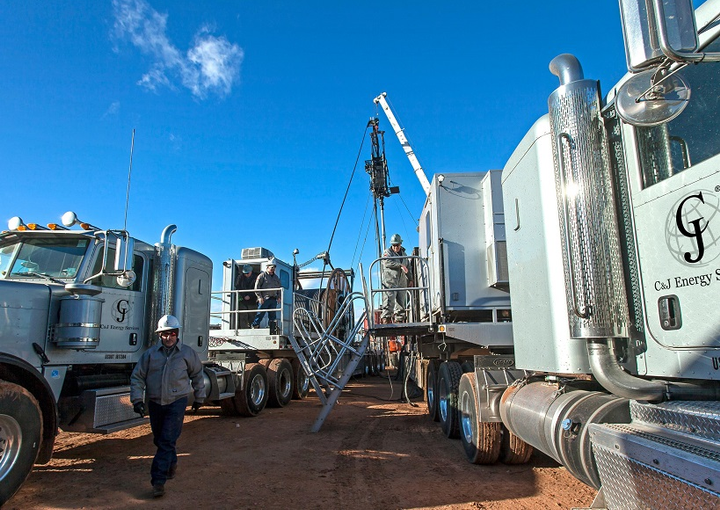 Among other things, C&J Energy Services found that securing stakeholder buy-In before, during, and beyond rollout was critical to successfully implementing ELDs.  - Photocourtesy MiX Telematics