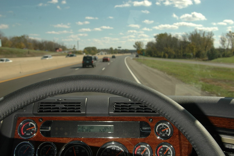 Standard cruise control works best on level terrain, but predictive cruise control really shines...