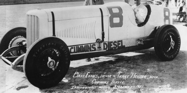 Cummins' colorful history includes building race cars for several trips to the Indy 500.