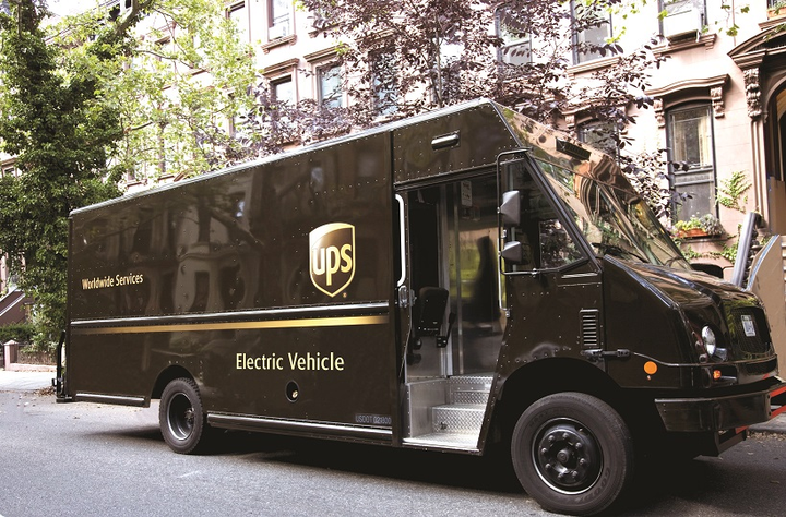 UPS is working with Unique Electric Solutions LLC on new technology to convert UPS package delivery vehicles from diesel to electric.