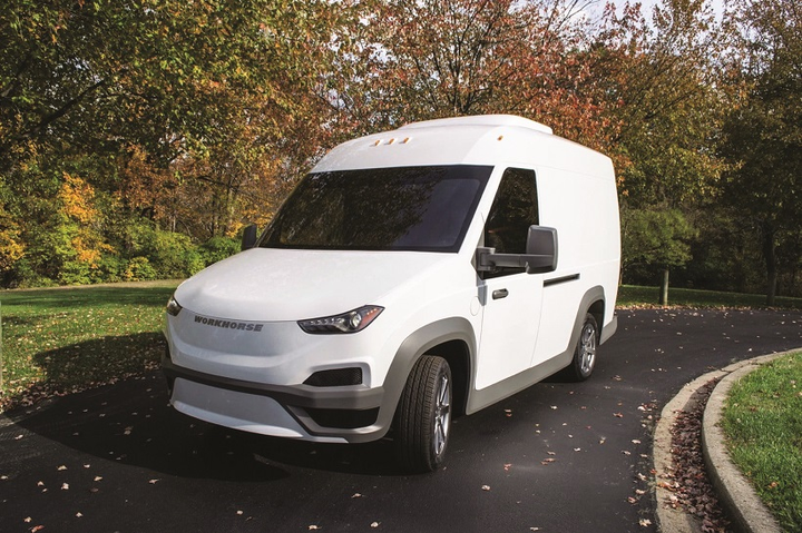 Workhorse says its new N-Gen electric van has demonstrated fuel efficiency, as expressed in miles per gallon equivalent (MPGe), that averages 40 MPGe for its 450-cubic-foot electric van, and 75 MPGe for its 200-cubic-foot electric van.
