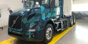 Volvo Offers Sneak-Peek of All-New Class 8 Electric Tractor
