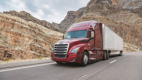 Enhancements made to the Freightliner Cascadia include making the Detroit Assurance 4.0...