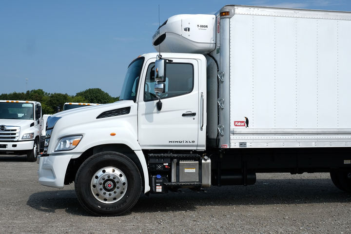 The XL 8 cab is tall, offering tremendous visibility out front and beside the truck.