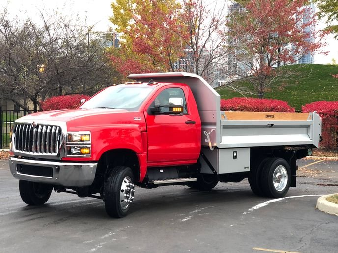 The six-week strike at General Motors impacted Navistar's Springfield, Ohio truck assembly plant, causing the company to suspend the delivery of certain models, such as CV Series trucks that were co-developed with GM.  - Photo: Jack Roberts