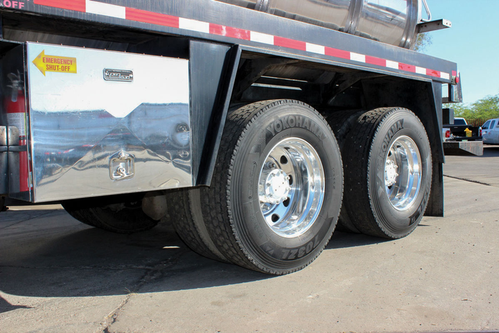 2018 was a record year for truck tires in the U.S. It was record-setting in both original equipment and replacement tires. In the replacement market, the total of 21 million tires was up 7.7% from the previous high of 19.5 million in 2017. 