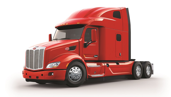 2a173bf51b717 The newest version of Peterbilt s flagship on-highway Model 579 is the  UltraLoft