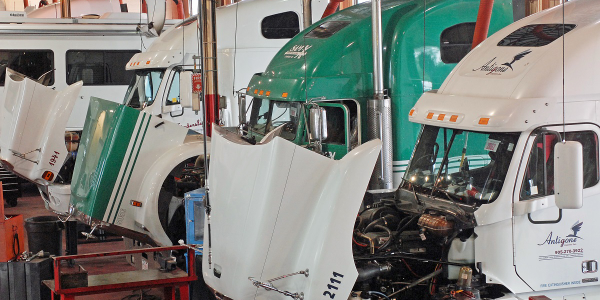 The longer you keep a truck, the more it costs in maintenance and repairs.