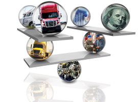 Achieving the optimal total cost of ownership means weighing the benefits of every spec on a truck.