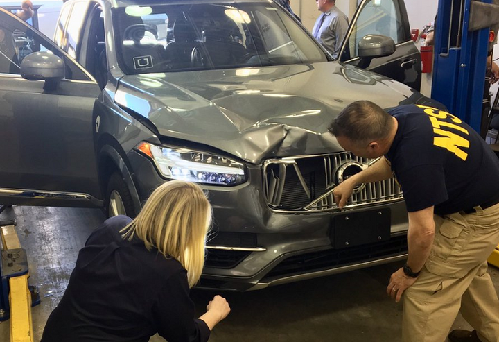 With more information, Rolf revisits the fatal crash of an autonomous Uber vehicle in Arizona. Police say the driver could have seen the victimand stopped the Volvo some 43 feet before hitting them if she'd been paying attention.  - Photo via NTSB