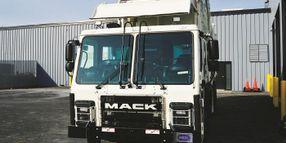 Driving Mack's Low-Ride Refuse Hauler