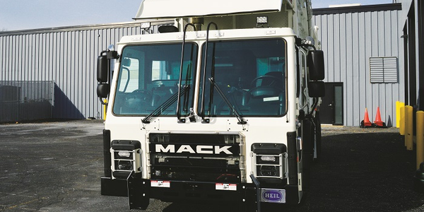 The LR cab features large front windscreen glass areas and channeling overhead to divert rain...