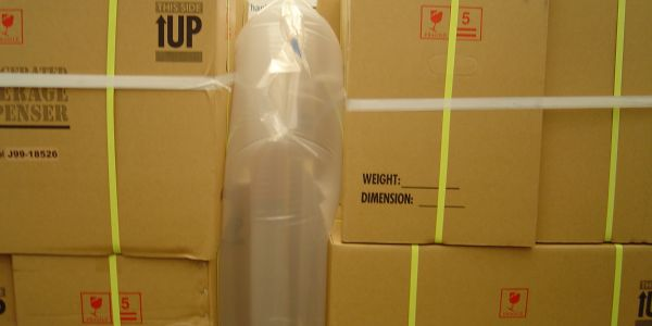 "Inflatable dunnage bags are an ""out-of-the-box"" solution for filling empty spaces in van and..."