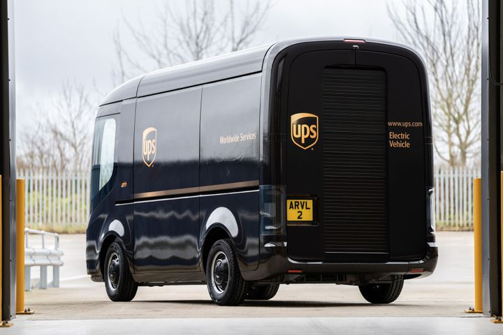 UPS ordering 10,000 Arrival electric delivery vans -- and investing $110 million in the British electric vehicle OEM was just one of several big news stories on the electric truck front in the last week of January 2020. - Photo: Arrival