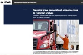 Media Applauds Truckers during the Pandemic [Blog]