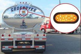 Tank Truck Carriers May Add Extra Pulsating Rear Brake Lamp to Trailers