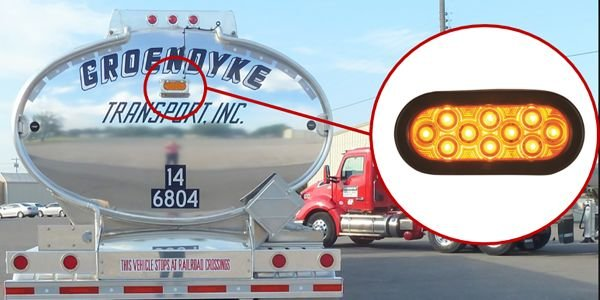 Groendyke Transport was able to cut rear-end collisions by a third by installing an extra...