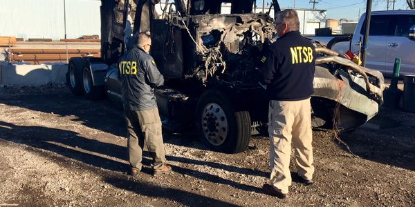 The NTSB determined that this Elmhurst, Illinois, crash was the Pioneer Transportation driver's...