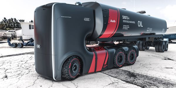 Remove humans from the design equation, and truck designs of the future could be radically...