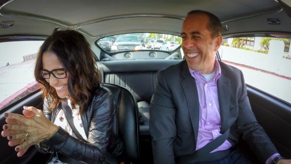 "Jerry Seinfeld and Julia Loius-Dreyfus in ""Comedians in Cars Getting Coffee."" - Photo: Netflix"