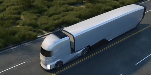 The Ford F-Vision is an autonomous truck prototype being developed for the European market.