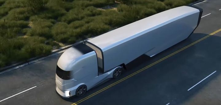 The Ford F-Vision is an autonomous truck prototype being developed for the European market. - Photo: Ford Motor Company