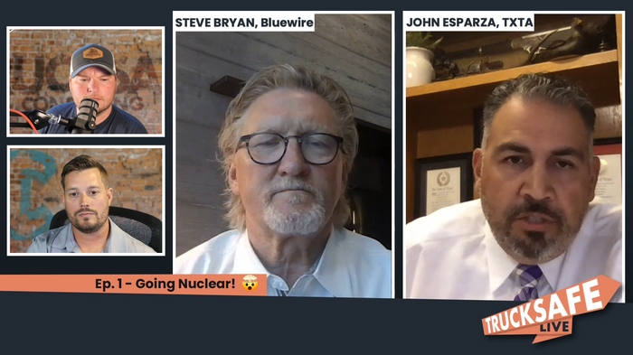 Trucksafe Consulting's first Trucksafe Live show focused on nuclear verdicts. - Photo: Trucksafe Consulting