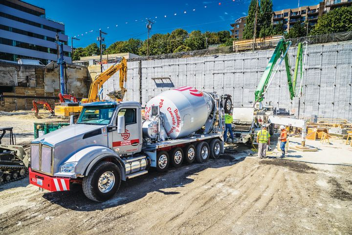 Concrete sales are down from last year, says Ralph LoPriore – but they've been able to replace aging trucks and modernize the fleet.