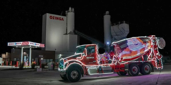 Ozinga's second Merry Mixer, with even more lights than the original, was scheduled to...