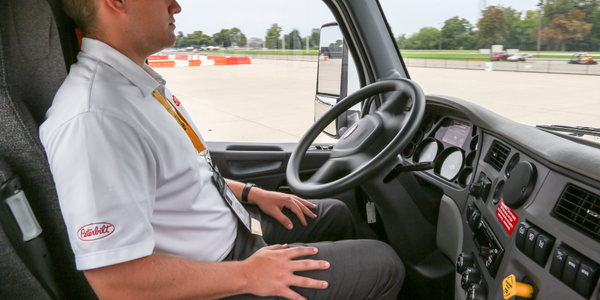 Autonomous vehicle systems are already making life easier for professional drivers.