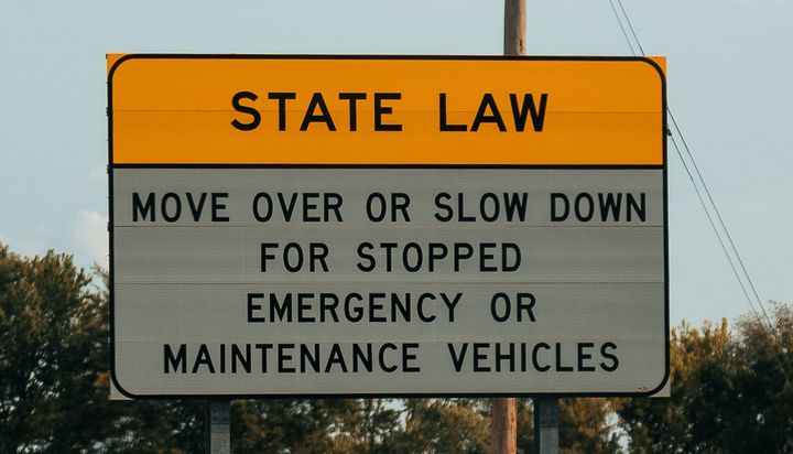 Some states have move-over laws.