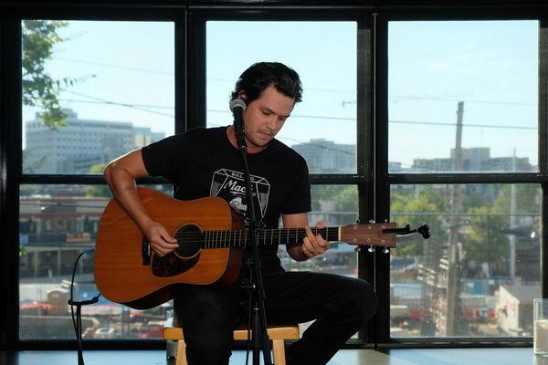 Recording artist Steve Moakler.    -