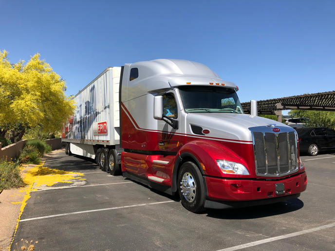 When we got into the truck in Scottsdale, I wasn't really thinking about fuel economy, but I got the spirit when I started seeing the numbers creeping upward.