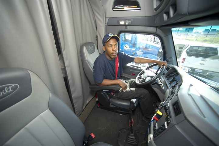 """The fight has been joined again on Capitol Hill over """"preemption,"""" that is to say, should the separate states have the right to preempt federal law when it comes to setting work rules for truck drivers? Photo: Paccar Financial"""