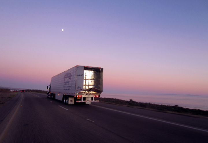 """A""""data revolution"""" is opening the door to freight-matching technology.  - Photo: Jim Park"""