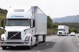 Peloton Scores a Platooning Point