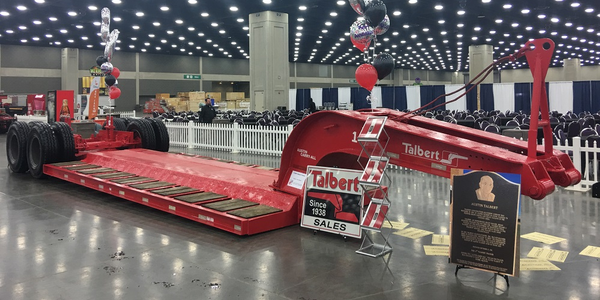 Talbert Manufacturing's first trailer was featured in the American Historical Truck Society's...
