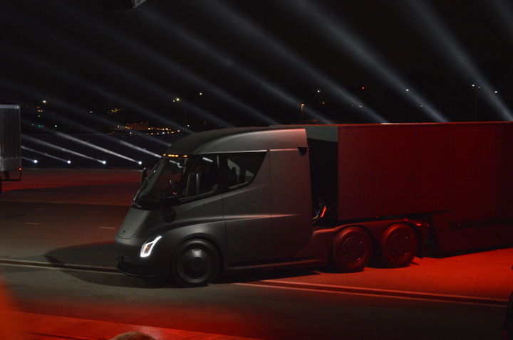 Tesla has had a decidedly up-and-down year since the Semi Truck launch highpoint late in 2017.  - Photo: Jack Roberts