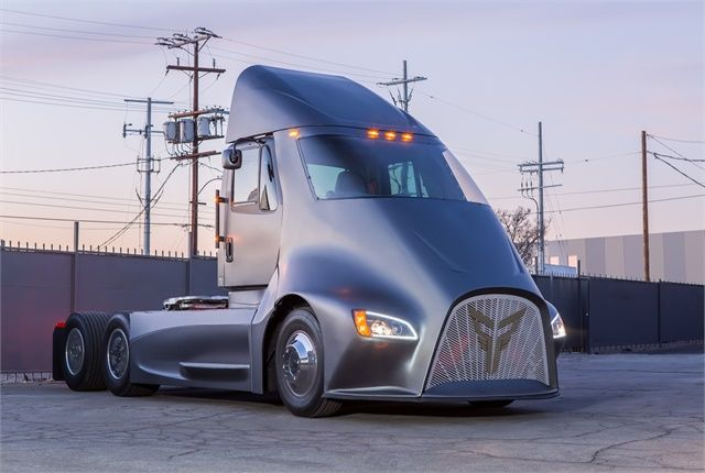 A new NACFE report on electric vehicles says Class 7 and 8 operations will be possible, but not for all applications. Photo: Thor Trucks