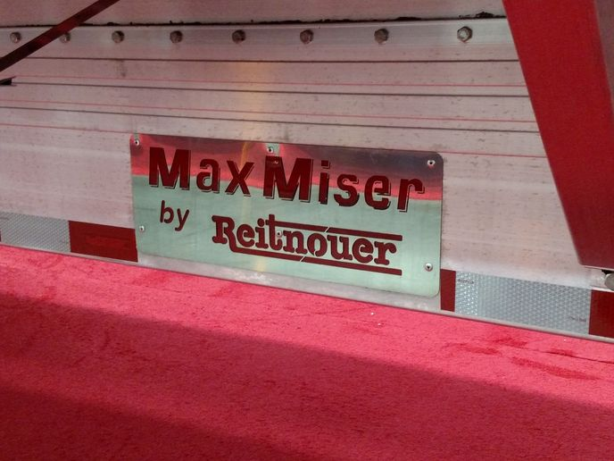 Reitnouer's Max Miser implies maximum earnings through high payloads, and presumably all Miser owners hang onto their money.